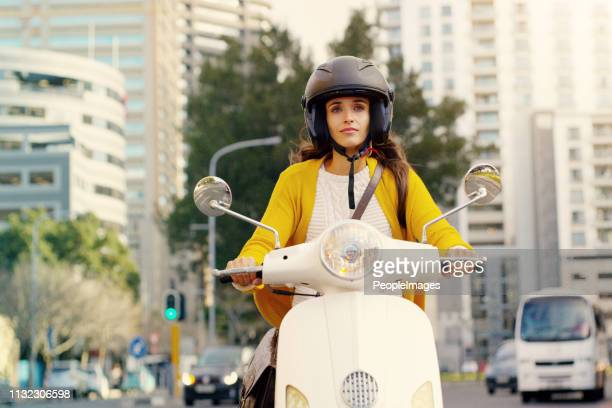 make the world follow your lead - motor scooter stock pictures, royalty-free photos & images