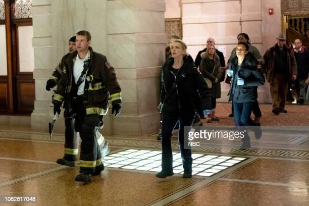 FIRE 'Make This Right' Episode 712 Pictured Jesse Spencer as Matthew Casey Kara Killmer as Sylvie Brett