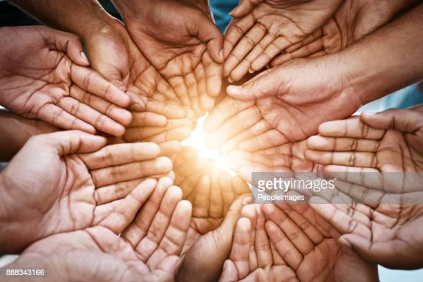 make this world a brighter place - a helping hand stock pictures, royalty-free photos & images
