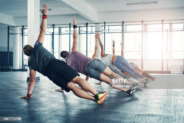 make time before you run out of it - circuit training stock photos and pictures