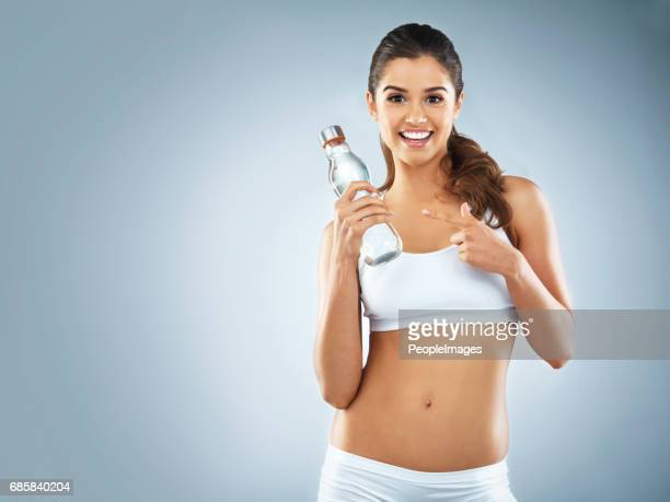 make water your best friend - lap body area stock photos and pictures