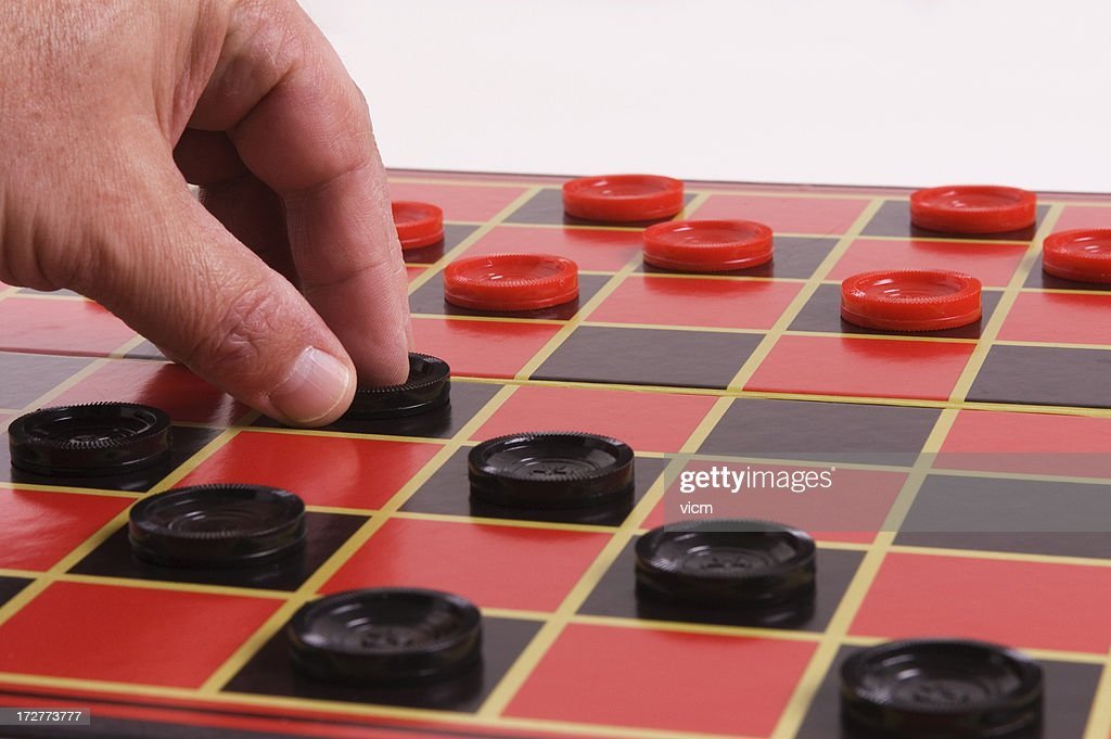 make your move : Stock Photo