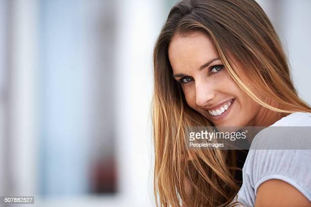 faça o seu próprio espécie de felicidade - cabelo liso - fotografias e filmes do acervo