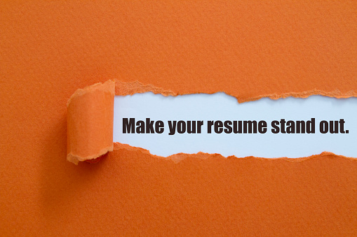 Make your resume stand out. 1092057394