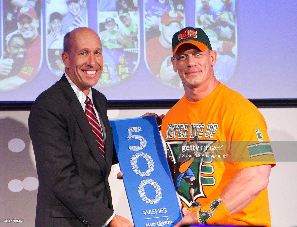 John Cena And Make-A-Wish Celebrate His 500th Wish Granting Milestone : ニュース写真