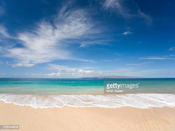 makena beach - ターコイズブルー ストックフォトと画像