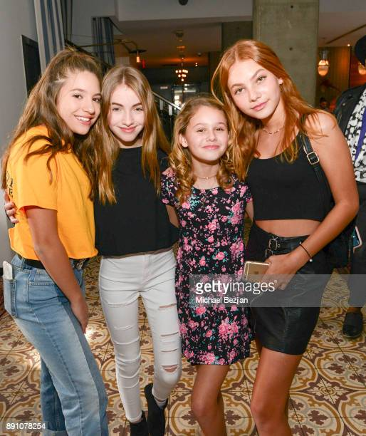 Makenzie Ziegler Lauren Orlando Ruby Rose Turner and Nadia Turner attend Girl Guild Debuts with a Strong Mission and Support of Young Influencers at...