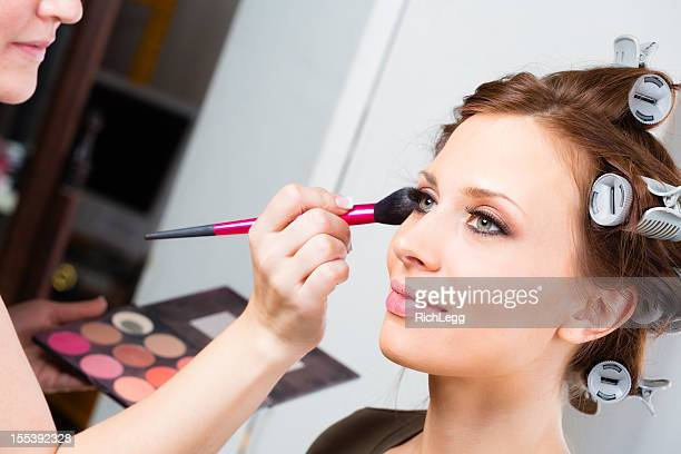 Make-up-Anwendung