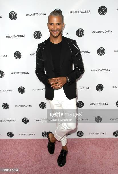 Makeup artist and TV personality Jay Manuel attends Day 1 of the 5th Annual Beautycon Festival Los Angeles at the Los Angeles Convention Center on...