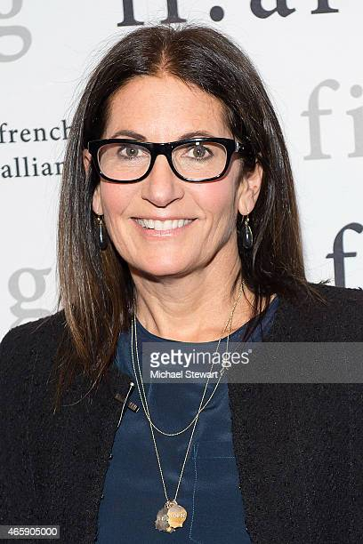 Makeup artist Bobbi Brown attends FIAF's Creative Leader Series Bobbi Brown at Florence Gould Hall on March 11 2015 in New York City