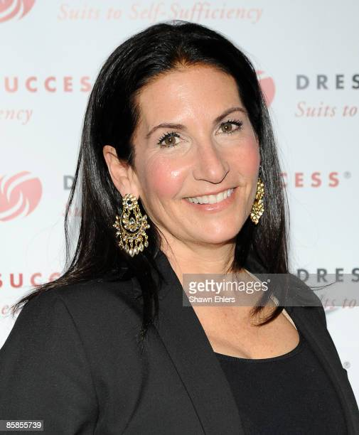 Makeup artist Bobbi Brown attends the 2009 Dress for Success Worldwide Gala at the Grand Hyatt at Grand Central Station on April 7 2009 in New York...