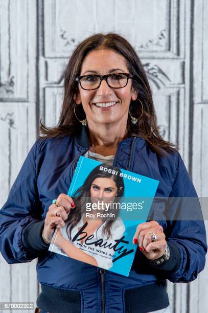 Makeup artist Bobbi Brown discusses 'Bobbi Brown Beauty From The Inside Out Makeup * Wellness * Confidence' with the Build Series at Build Studio on...