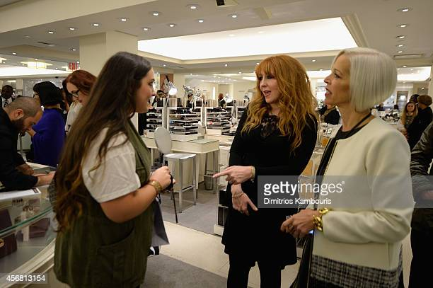 Makeup artist Charlotte Tilbury and Linda Fargo attend Charlotte Tilbury Arrives In America VIP Beauty Launch event presented by Bergdorf Goodman 5th...