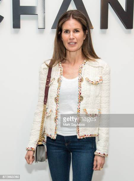 Makeup artist Gucci Westman attends the CHANEL celebration of the launch of The Coco Club at The Wing Soho on November 10 2017 in New York City