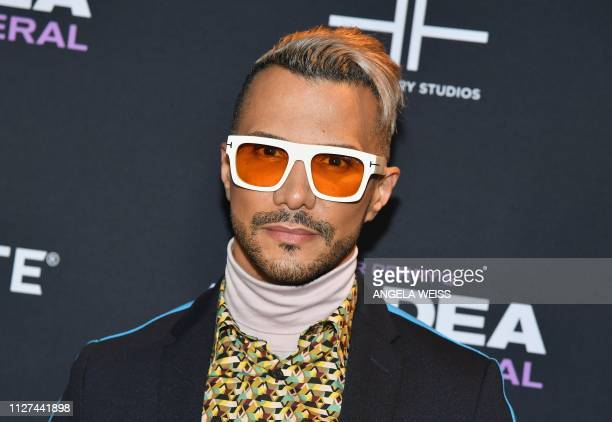 Makeup artist Jay Manuel attends the NY special screening for Tyler Perry's 'A Madea Family Funeral' at SVA Theater on February 25 2019 in New York...