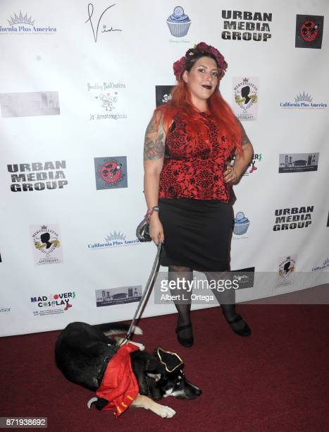 Makeup Artist KC Mussman of SyFy's 'FaceOff' attends Halloween Hotness 4 Heating Up For The Cure held at American Legion Hall on October 15 2017 in...