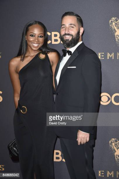 Makeup artist Malika James and producer Hale Rothstein attend the 69th Annual Primetime Emmy Awards at Microsoft Theater on September 17 2017 in Los...