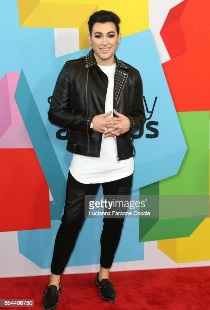 Makeup artist Manny Mua attends the 7th Annual Streamy Awards at The Beverly Hilton Hotel on September 26 2017 in Beverly Hills California