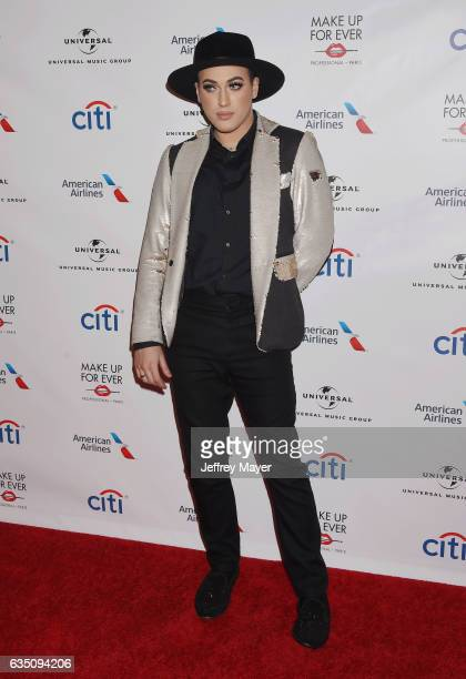 Makeup artist Manny Ramirez arrives at the Universal Music Group's 2017 GRAMMY After Party at The Theatre at Ace Hotel on February 12, 2017 in Los...