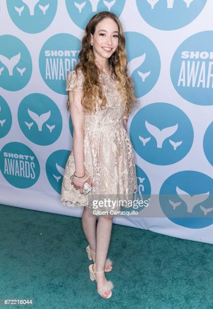 Makeup Artist Sasha Anne attends the 9th Annual Shorty Awards at PlayStation Theater on April 23 2017 in New York City
