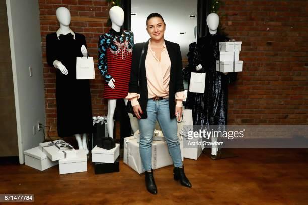 Makeup artist Tobi Henney attends THE OUTNET In Residence Dinner on November 7 2017 in New York City