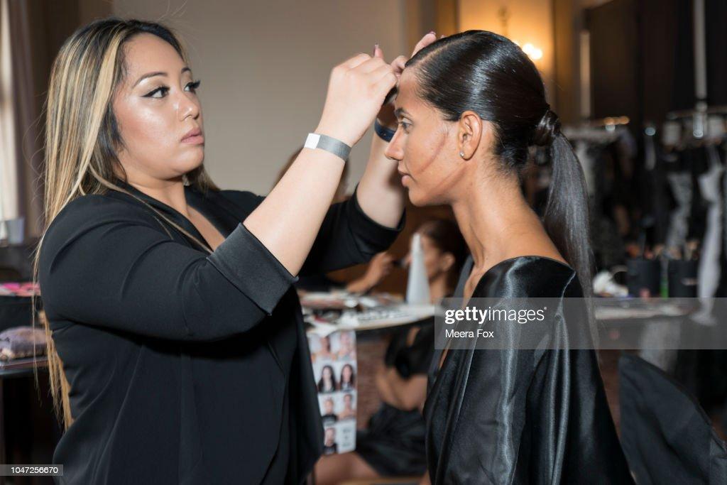 2018 BAFN Blanc Et Noir Fashion Show, Presented By Joseph Domingo : News Photo