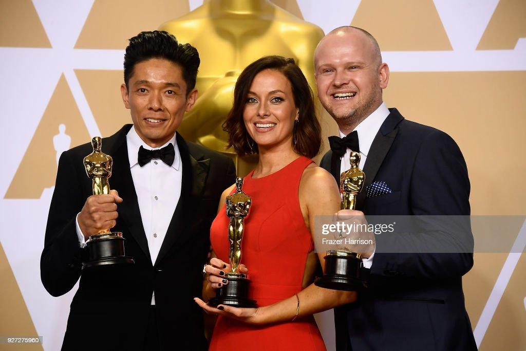 90th Annual Academy Awards - Press Room : ニュース写真