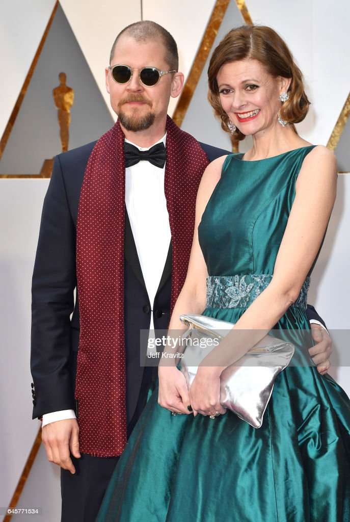 Make-up artists Love Larson (L) and Eva von Bahr attend the 89th Annual Academy Awards at Hollywood & Highland Center on February 26, 2017 in Hollywood, California.