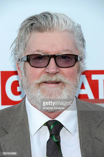 Makeup designer Peter Swords King arrives at the GREAT British Film Reception honoring the British nominees of The 85th Annual Academy Awards at the...