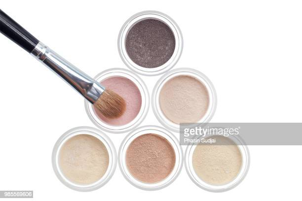 makeup kit - powder compact stock pictures, royalty-free photos & images