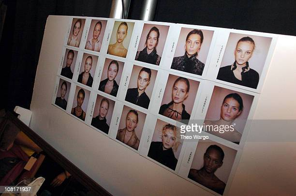 Make-up looks by Gucci Westman for Lancome during Olympus Fashion Week Fall 2005 - Lancome at J Mendel at The Plaza, Bryant Park in New York City,...