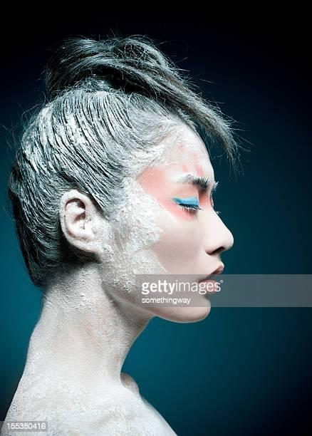 Make-up of Asian woman