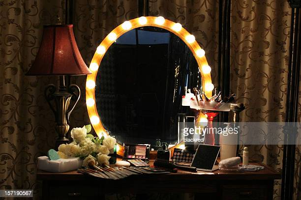 makeup room - backstage stock pictures, royalty-free photos & images