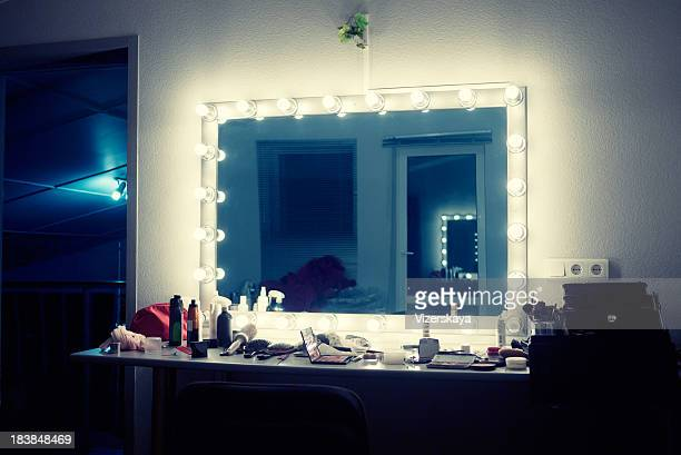 make-up room - backstage stock pictures, royalty-free photos & images