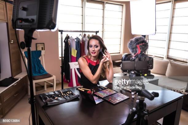 Makeup vlogging
