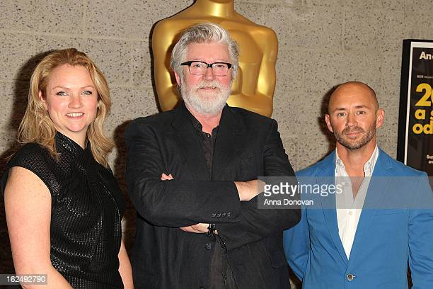 Makeup/Hairstylists Tami Lane Peter Swords King and Rick Findlater attend The Academy Of Motion Picture Arts And Sciences Presents Oscar Celebrates...