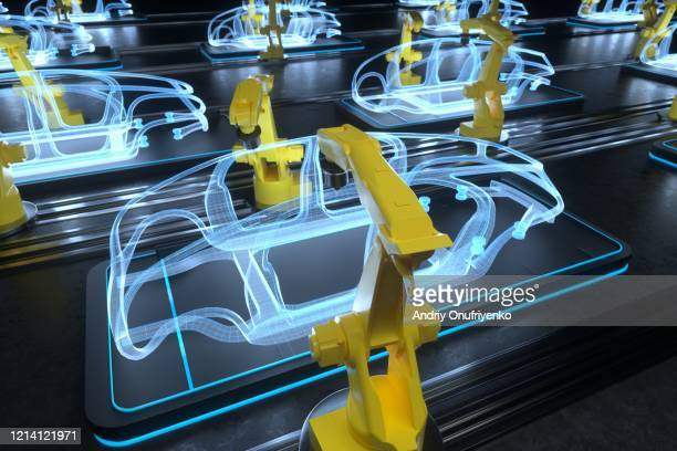 making a car - ai stock pictures, royalty-free photos & images