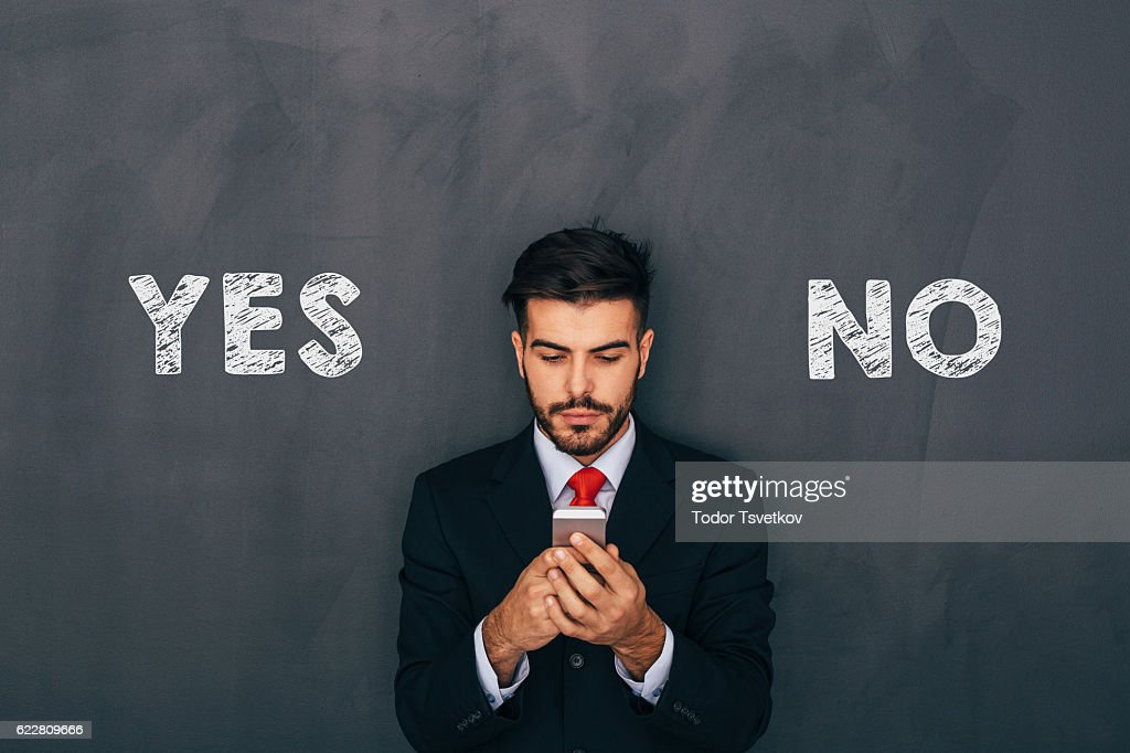 Making a decision : Stock Photo