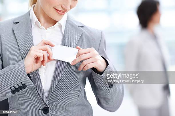 making a good first impression - name tag stock photos and pictures