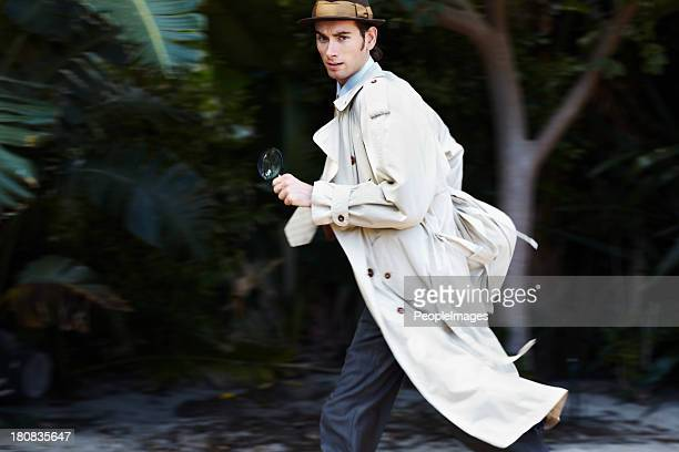 making a hasty getaway - detective stock pictures, royalty-free photos & images