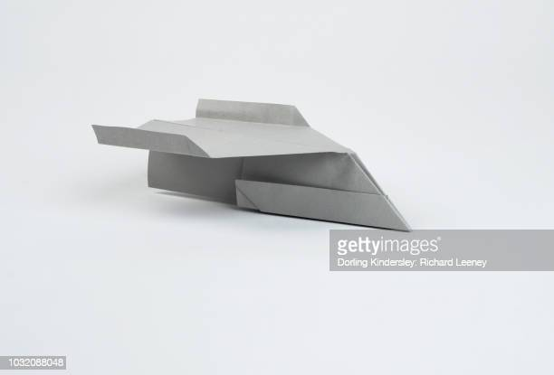 Making a paper airplane