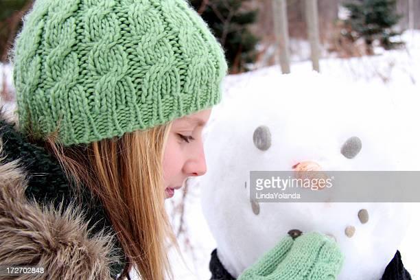 Einen Schneemann