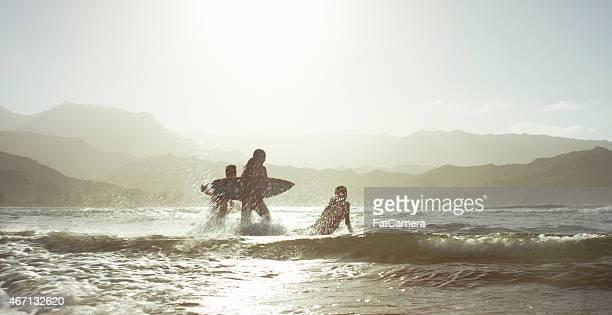 Making a Splash in the Ocean