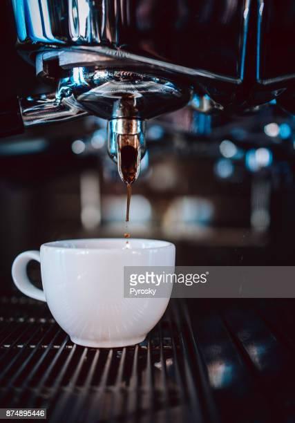 Hacer un café espresso