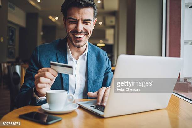Making an on-line payment