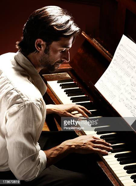 making beautiful music - pianist stock pictures, royalty-free photos & images