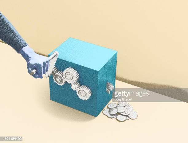 Making bitcoins