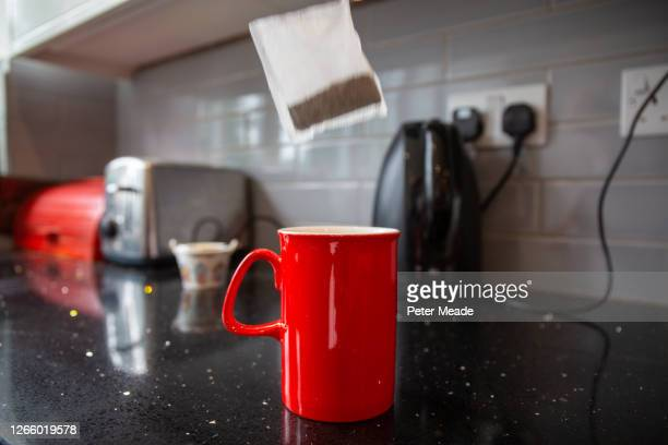 making coffee with a cafetiere - preparation stock pictures, royalty-free photos & images