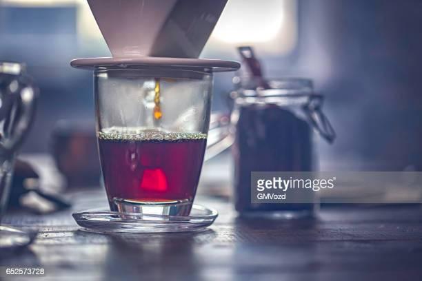 Kopje koffie maken