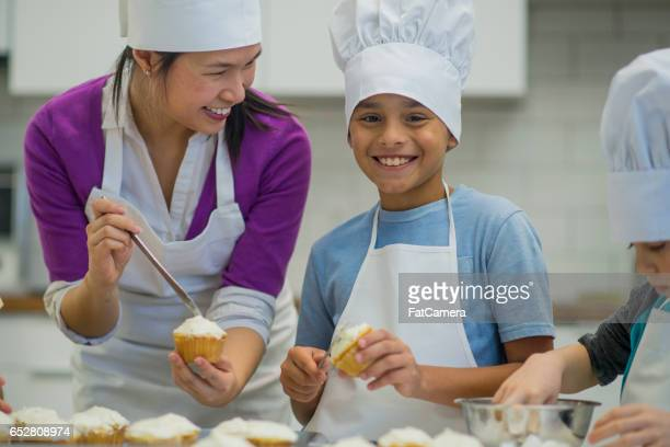 Making Cupcakes on a Field Trip